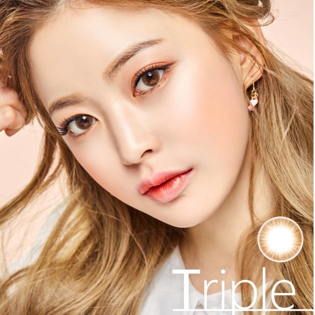 Korean Olens Triple Brown Lens