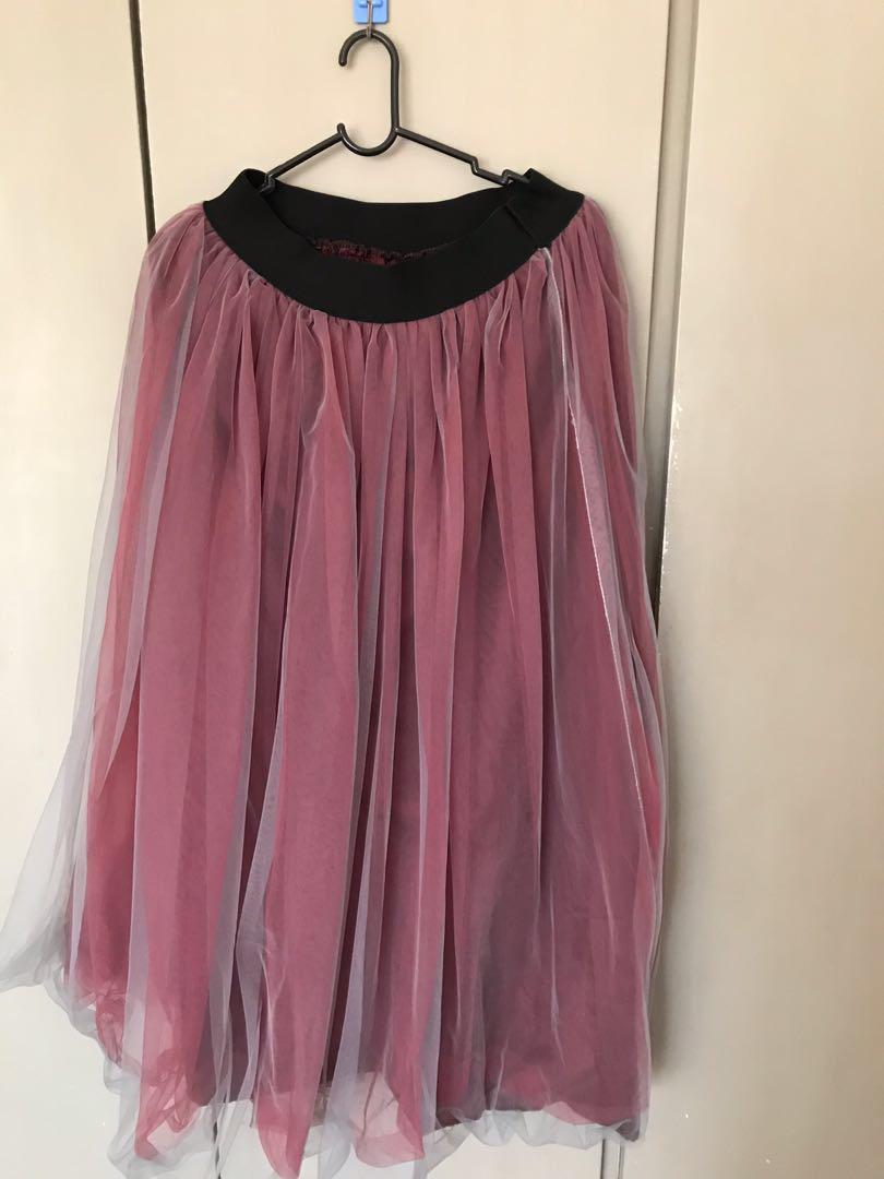 Long dinner skirt