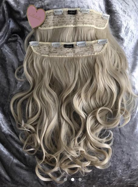Lullabellz two piece hair extensions