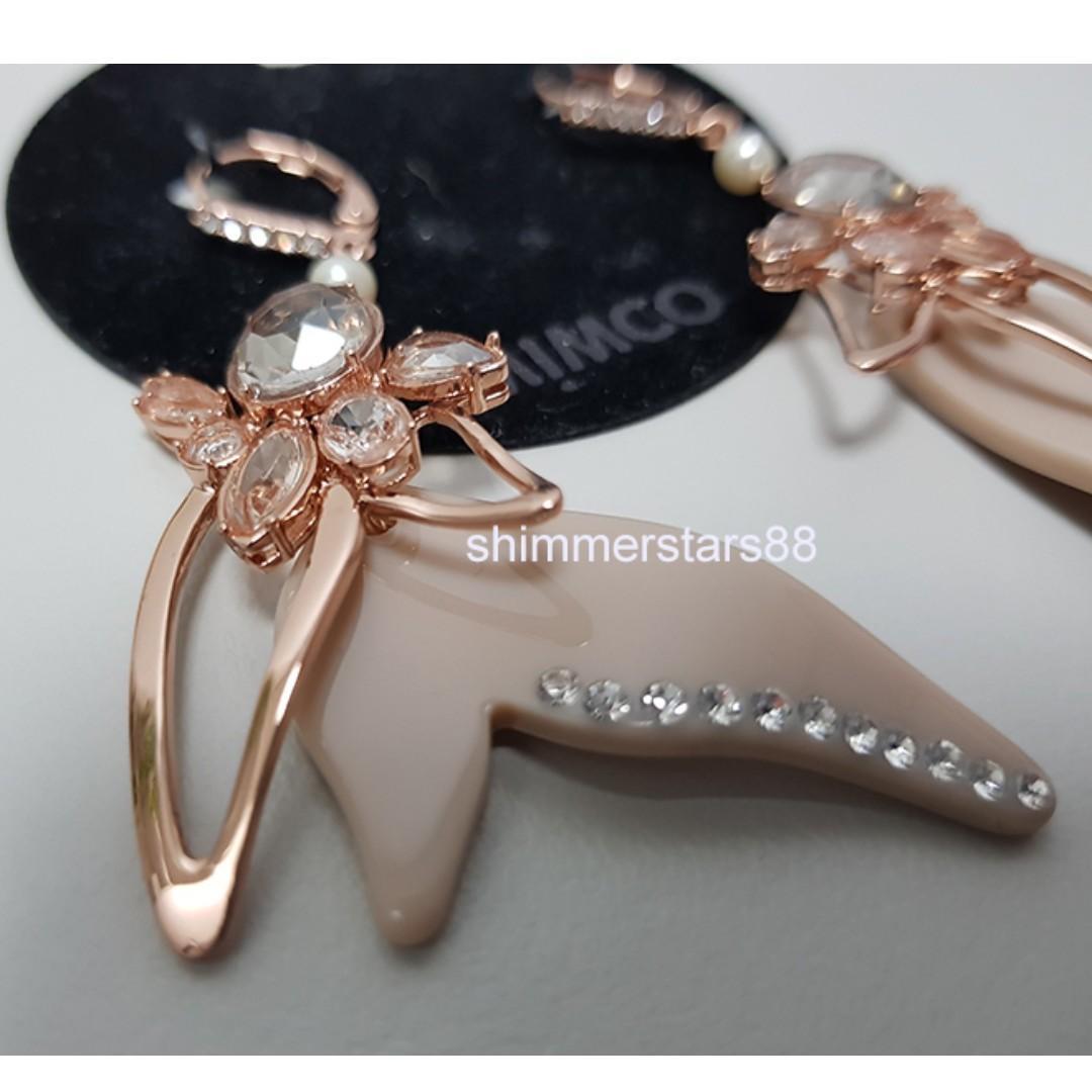 New!Mimco foliage earrings, RRP$79.95