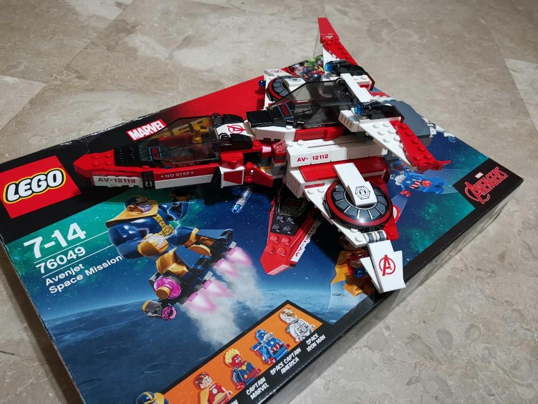 Open Set Lego 76049 - Only Ship No minifigures