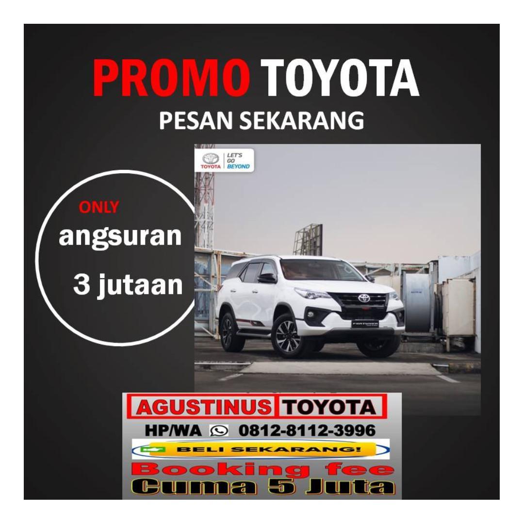 """Promo toyota Cilengsih HP/WA""""081281123996"""