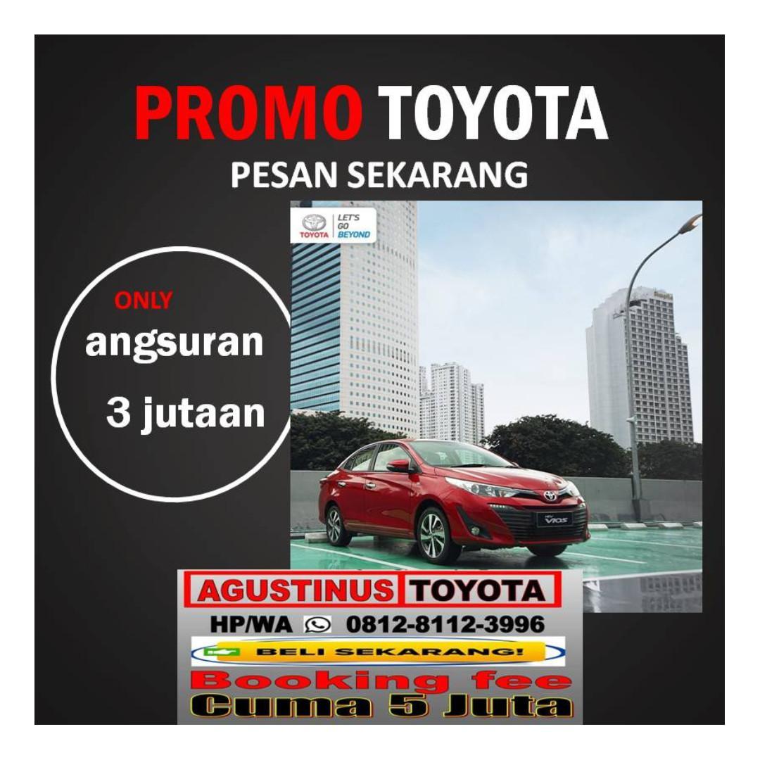 """PromoToyota Jakarta Pusat HP/WA""""081281123996"""