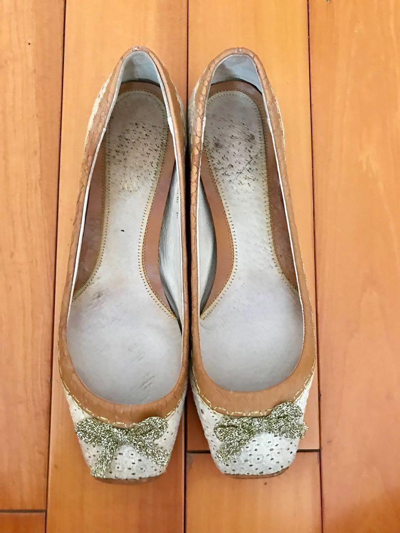 Puzzle flats 平底鞋