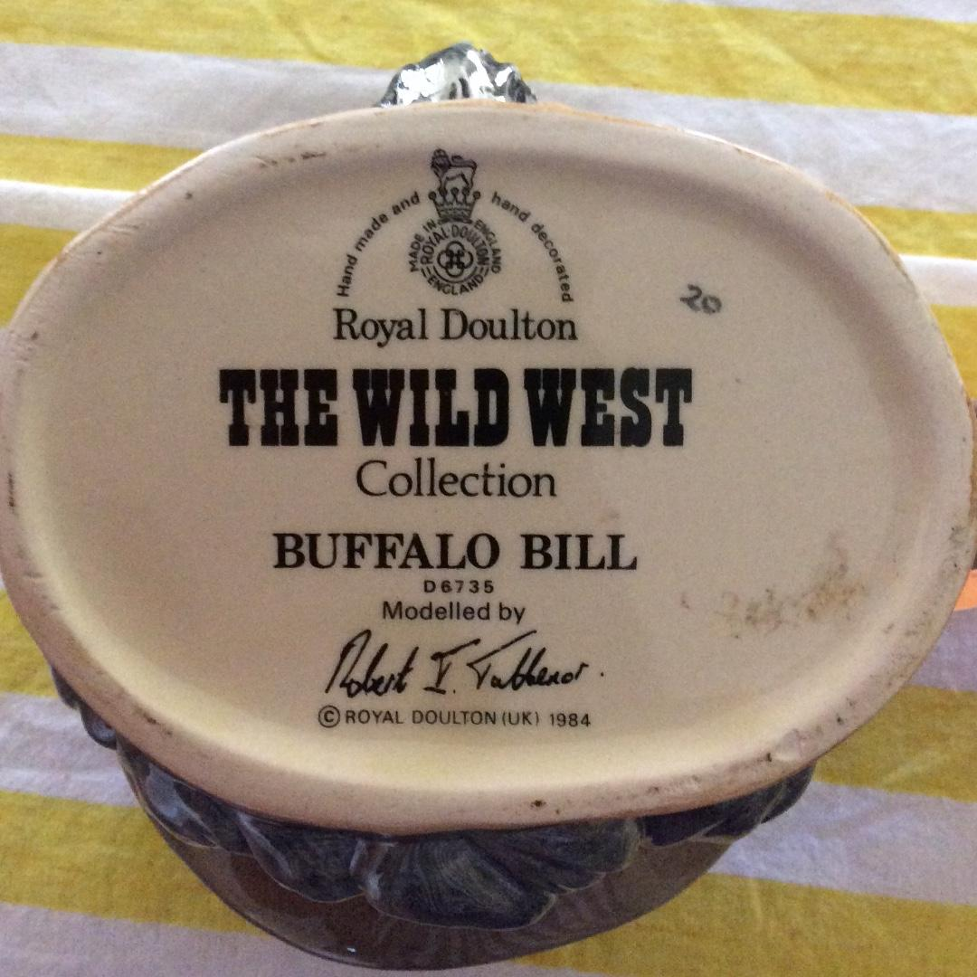 Royal Doulton  Buffalo Bill Wild West collection
