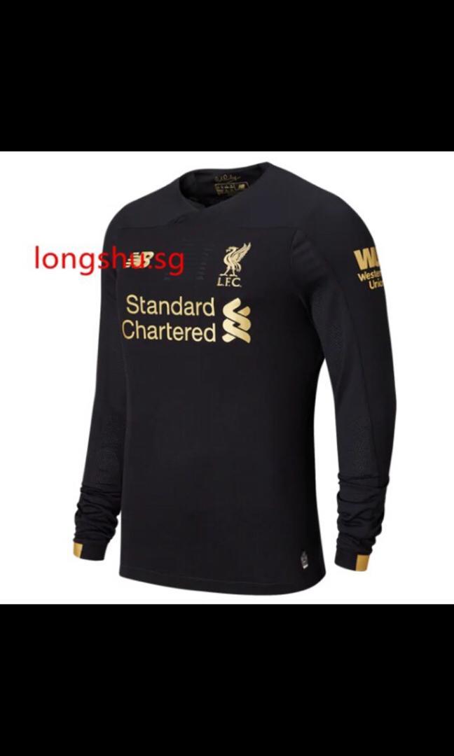 great fit db56e 001ce SALE Liverpool 19/20 Goalkeeper Kit, Sports, Sports Apparel ...