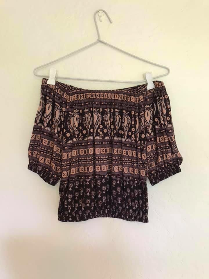 Spell and the Gypsy off shoulder top