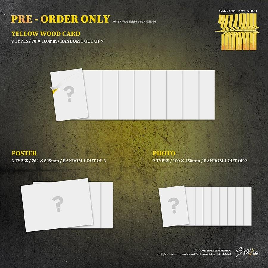 STRAY KIDS CLE 2: YELLOW WOOD ALBUM LIMITED EDITION