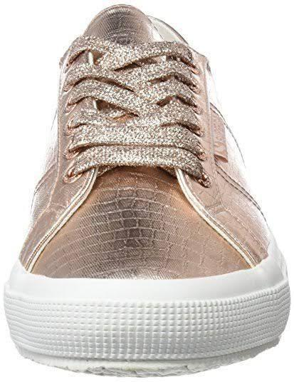 SUPERGA SNEAKERS Cotmet Embossed Coco rose gold (pink)
