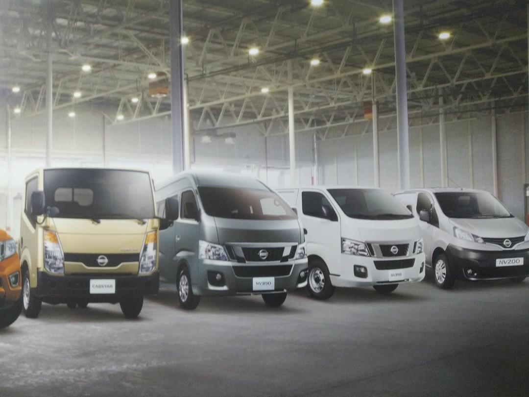 Toyota Hiace Nissan NV350 Nissan NV200 Best Price!
