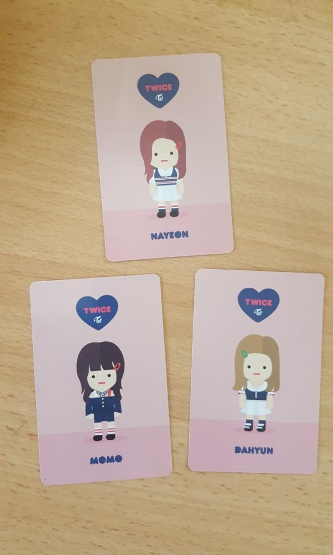 NaYeon DaHyun MoMo - TWICE Official PC Holo SIGNAL 4th Mini Album