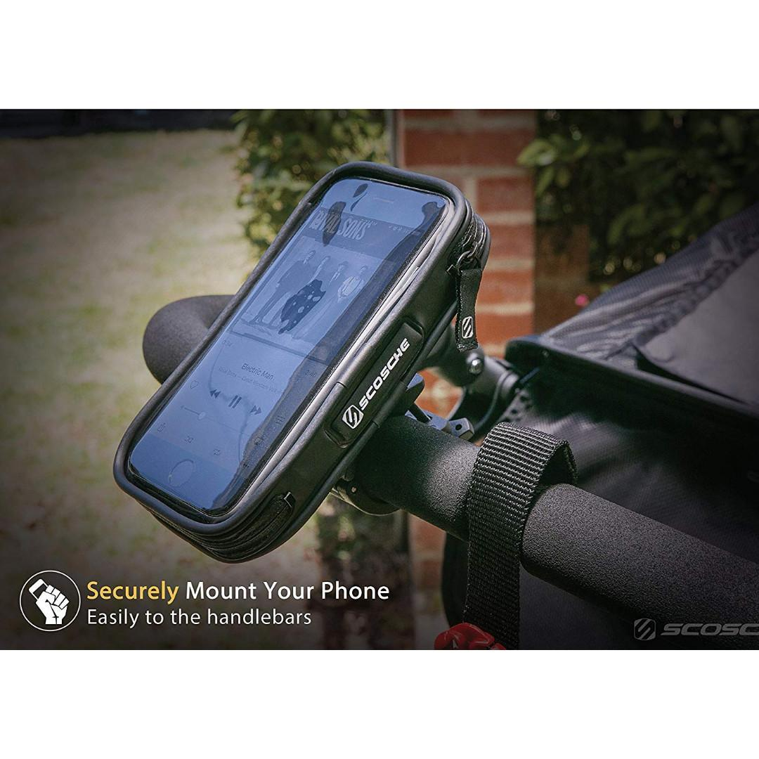 Weather Resistant Protective Case Bike Handlebar Mount for Phone