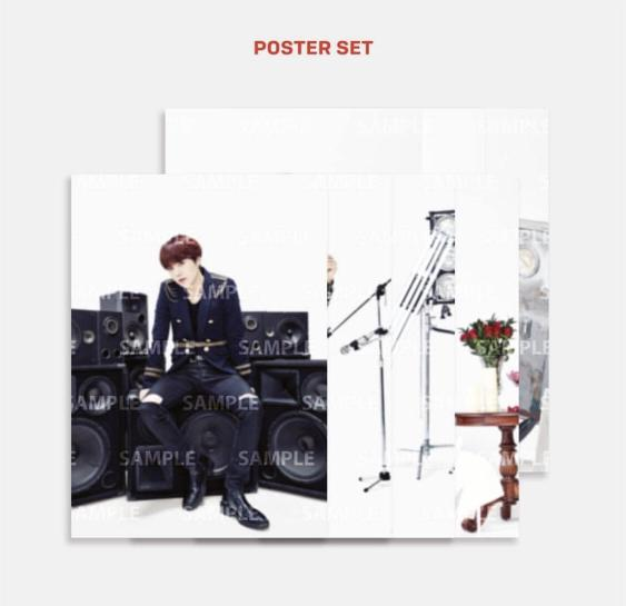 [WTS/LOOSE/IC] BTS SPEAK YOURSELF TOUR IN JAPAN POSTER SET MERCH