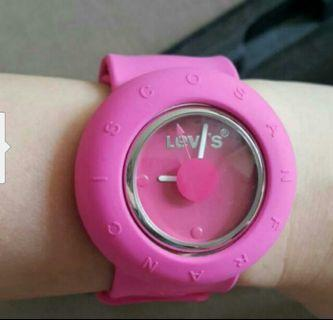 Levi's pink women watch (100% genuine)
