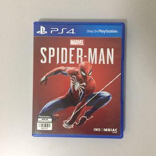 PS4 game: Spiderman