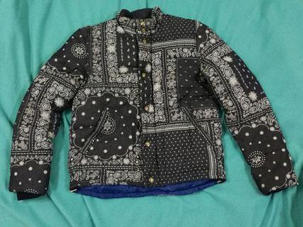 Bandana Print Puffer Jacket (Visvim Lookalike)
