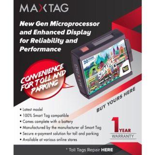 Smart Tag Max Tag for Touch N Go Toll Booth Smarttag Maxtag