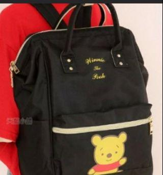 Skyblue Taiwan Authentic Pooh Backpack
