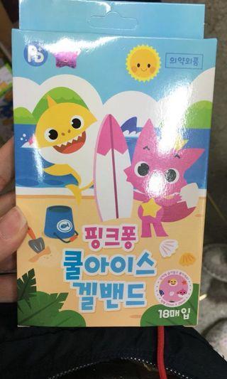 韓國Pink Fong Baby Shark 止痕蚊貼