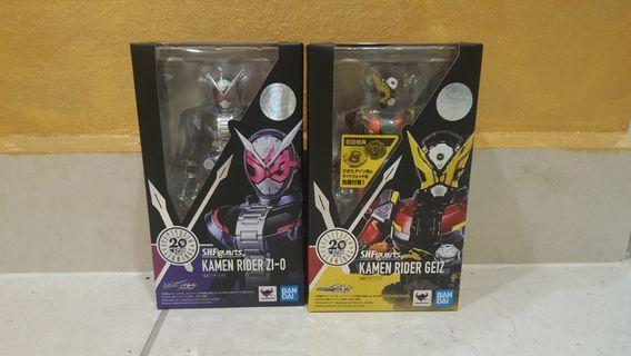 Bandai Kamen rider Zi O & Geiz