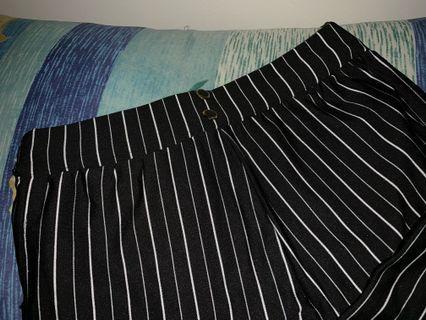 Striped work pants/slacks
