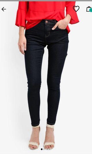 Dorothy Perkins Ashley Skinny Jeans in Indigo