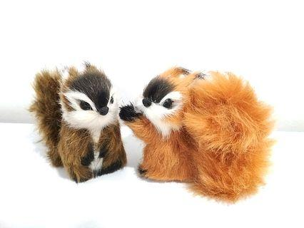 Cute Squirrel Toy Decoration