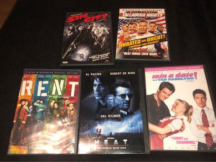 Assorted dvd 14 total