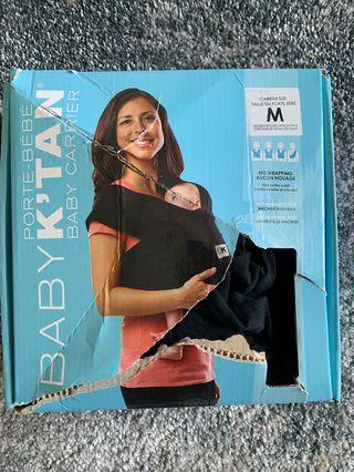 Baby K'tan® Baby Carrier in Black medium size