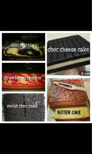 kek marble & kek coklat