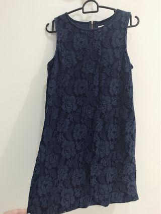 Padini Blue Lace Dress