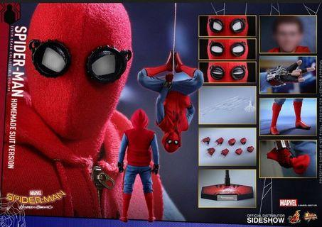 《徵徵徵》Hottoys mms414 homemade suit Spider Man 蜘蛛俠 自製戰衣