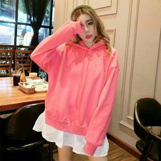 🚚 可愛粉色長版上衣