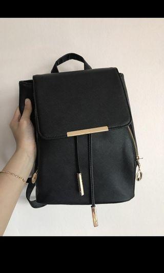 🚚 Roxy Black Korean Backpack