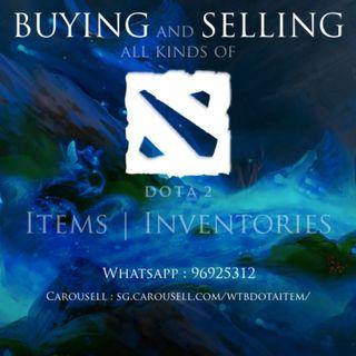 SELLING all kind of dota 2 item, FOr more information, pm me