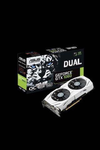 BRAND NEW ASUS Dual Geforce GTX 1060 OC Edition 6GB GDDR5