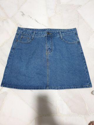 [CLEARANCE] BNWT A-Line Denim Skirt