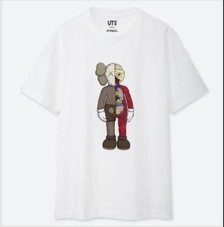 XL KAWS UNIQLO CROSS SECTION TEE