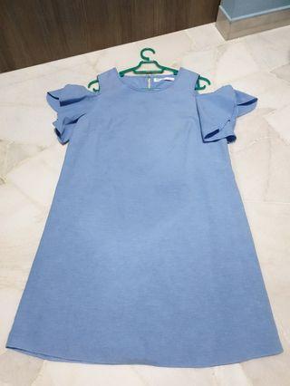 [CLEARANCE] Valleygirl Cold Shoulder Dress
