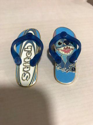迪士尼襟章Disney Pin 史迪仔拖鞋Stitch 2008