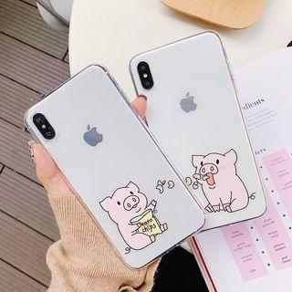[PO] twin pigs Iphone Case