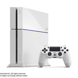 🚚 Used 500GB PS4 White - Japanese Import