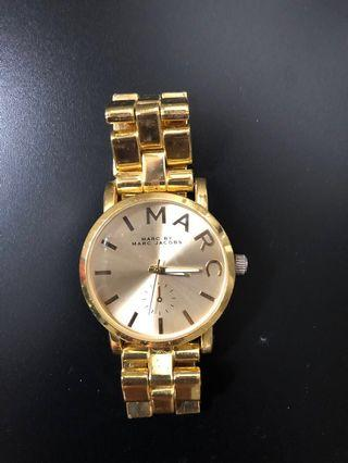 Marc Jacobs vintage gold watch