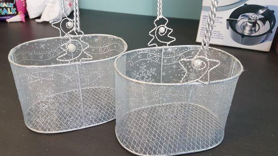 GUC decorative wire baskets