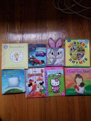 Was gifted these books but my kids speak french. Free! With any $10 purchase and up. Will also consider all 8 books for $8. Must take all. Pick up only at Main and Gerrard after 6pm or 20 Bay street 8am to 3pm