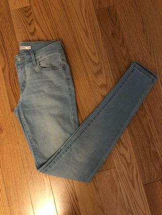 Levi's 710 Super Skinny Low Rise Jeans