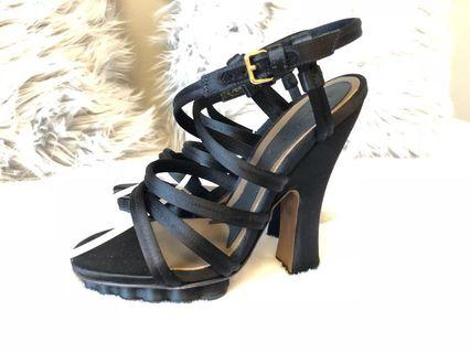 BNWOT Authentic MARNI satin heels, size 37