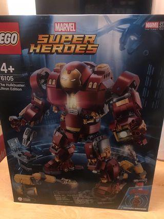 LEGO 76105 superheroes hulkbuster