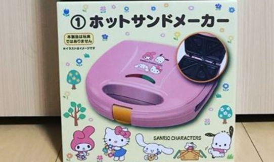 Sanrio 一番賞 三文治機 窩夫機 飛碟機