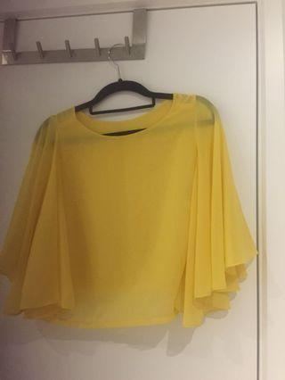 Winged yellow top